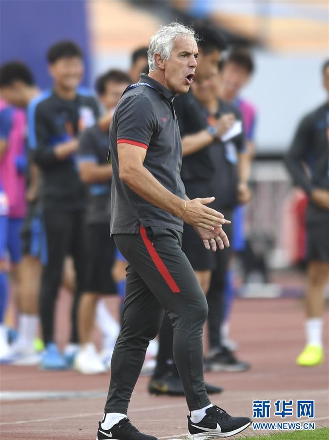 (体育)(7)足球——中超:深圳佳兆业不敌上海绿地申花