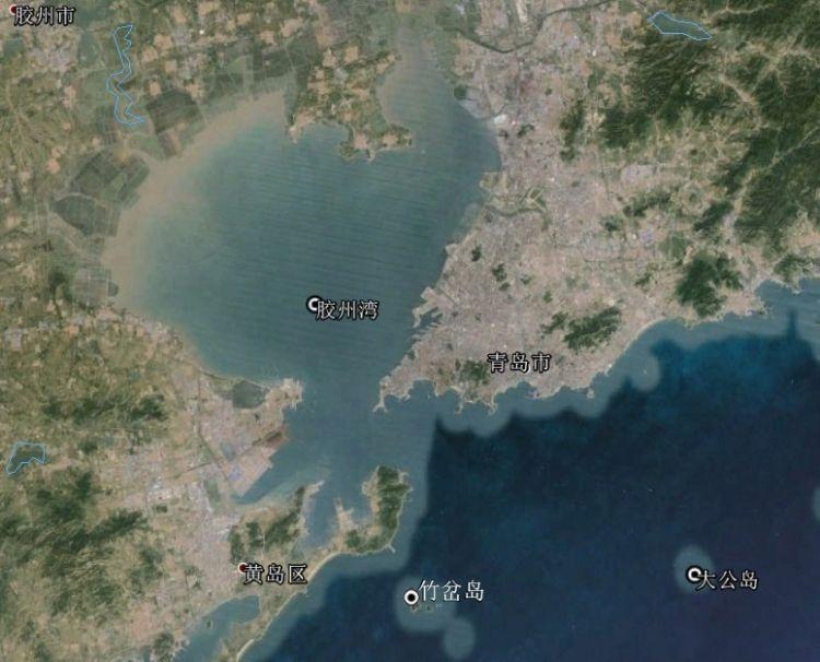 胶州湾海域