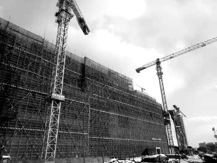华润万象汇项目快速推进 商业综合体于本月底实现封顶