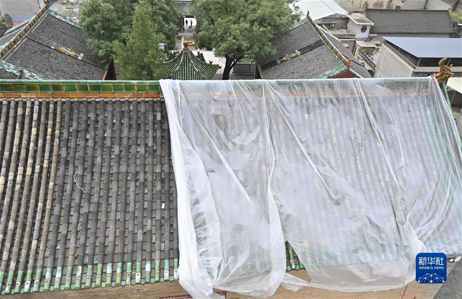 (新华视点·图文互动)(3)1700余处出现险情!山西如何抢救暴雨中受损的文物?